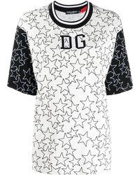 Dolce & Gabbana - Millennials Star Tシャツ - Lyst