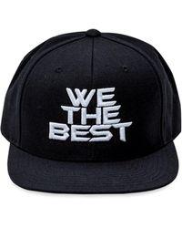 Stadium Goods Embroidered Logo Baseball Cap - Black