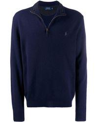 Polo Ralph Lauren ハーフジップ セーター - ブルー