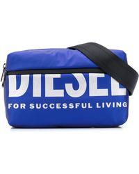 DIESEL - F-bold Logo-print Belt Bag - Lyst