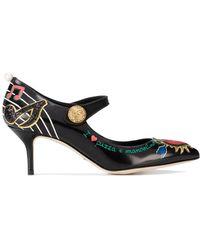 Dolce & Gabbana Mary Jane パンプス - ブラック