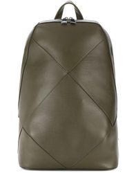 Bottega Veneta - Rucksack mit großem Intrecciato-Muster - Lyst