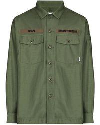 WTAPS Chemise à poches poitrine à rabat - Vert