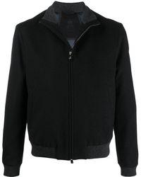 Corneliani ボンバージャケット - ブルー
