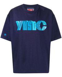 YMC ロゴ Tシャツ - ブルー