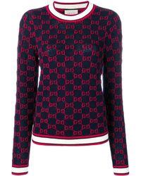 Gucci - ロゴ セーター - Lyst