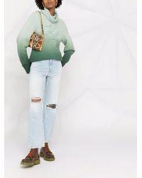 Karl Lagerfeld ロゴ プルオーバー - グリーン