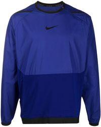 Nike Top Met Lange Mouwen - Blauw