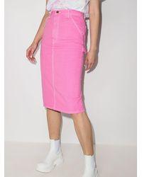 Marc Jacobs Юбка-карандаш - Розовый