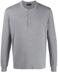 Ermenegildo Zegna Casual Classic Pyjama Set - Grey