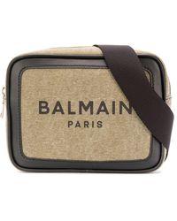 Balmain B-army ベルトバッグ - グリーン