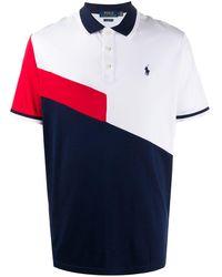 Polo Ralph Lauren - カラーブロック ポロシャツ - Lyst
