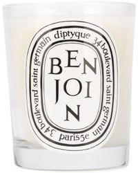 Diptyque Benjoin Scented Candle - White