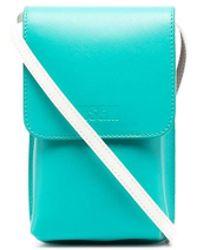 MSGM Мини-сумка Со Вставками - Коричневый