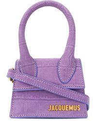 Jacquemus Mini sac à main Le Chiquito - Violet