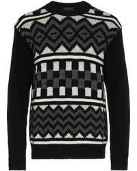 Prada Shetland Knit Jumper - Zwart