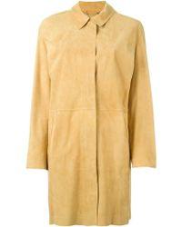 DESA NINETEENSEVENTYTWO - Buttoned Up Coat - Lyst
