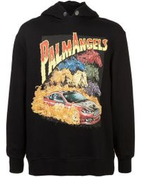 Palm Angels - 'Horse Power' Kapuzenpullover - Lyst