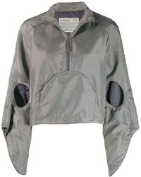 A_COLD_WALL* Cut-out Hooded Anorak - Grey