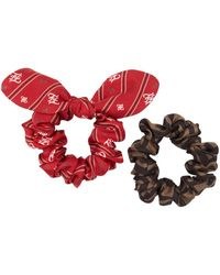 Fendi Two-piece Set Of Hairbands - Red