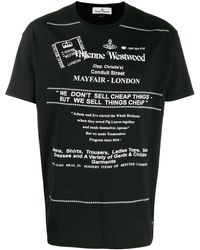 Vivienne Westwood Mayfair Tシャツ - ブラック