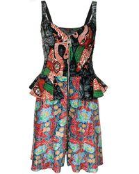 Louis Vuitton Платье Pre-owned С Абстрактным Принтом - Многоцветный