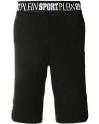 Philipp Plein - Shorts con cintura con logo - Lyst