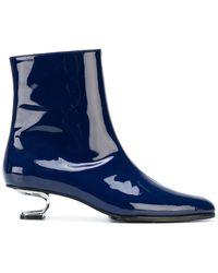 Nicole Saldaña - Structural Heeled Boots - Lyst