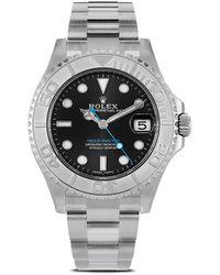 Rolex Наручные Часы Yacht-master Pre-owned 37 Мм 2020-го Года - Серый