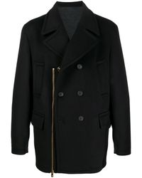 Versace Бушлат С Декоративной Молнией - Черный