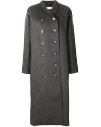 Totême  - Loose Fitted Coat - Lyst