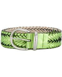 B-Low The Belt Плетенный Ремень - Зеленый