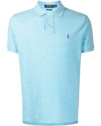 Polo Ralph Lauren - コントラストロゴ ポロシャツ - Lyst