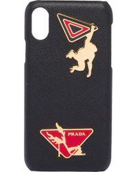 Prada - Embellished Iphone X Case - Lyst