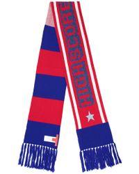 Tommy Hilfiger - Mascot Striped Long Scarf - Lyst