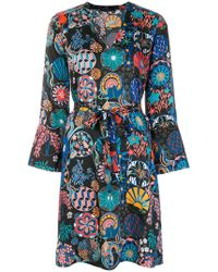 PS by Paul Smith | Printed Belted Dress | Lyst