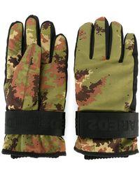 DSquared² - Gants de ski à motif camouflage - Lyst