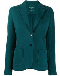 Circolo 1901 テーラード シングルジャケット - グリーン