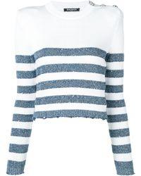 Balmain - ストライプセーター - Lyst
