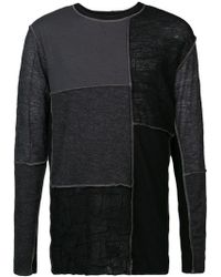 The Viridi-anne - Patch Detail Sweater - Lyst