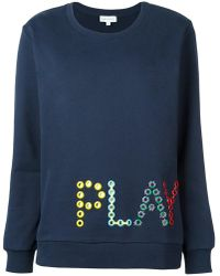 Mira Mikati - Love Me Embroidered Sweatshirt - Lyst