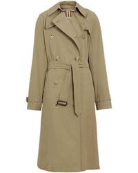 Burberry - Relaxed Fit Tropical Gabardine Trench Coat - Lyst
