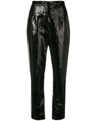 Elie Saab - Sequins Embroidered Trousers - Lyst