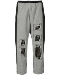 Antonio Marras - Contrast Panel Jeans - Lyst