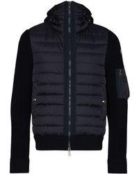 Moncler パデッドジャケット - ブルー