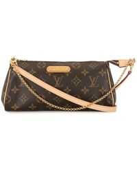 Louis Vuitton Borsa con catena 2016 Pre-owned Eva - Marrone