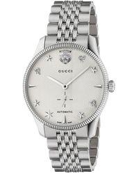 Gucci G-timeless Horloge - Metallic
