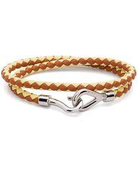 Marni Braided Wraparound Bracelet - Brown
