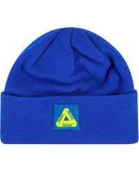 Palace Muts Met Patch - Blauw