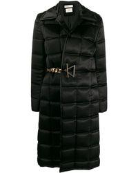 Bottega Veneta パデッド シングルコート - ブラック
